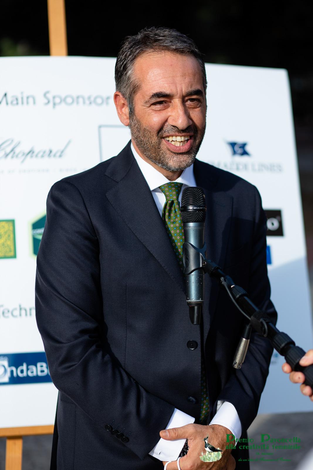 Il prof. Michele Guarino, presidente del Comitato scientifico