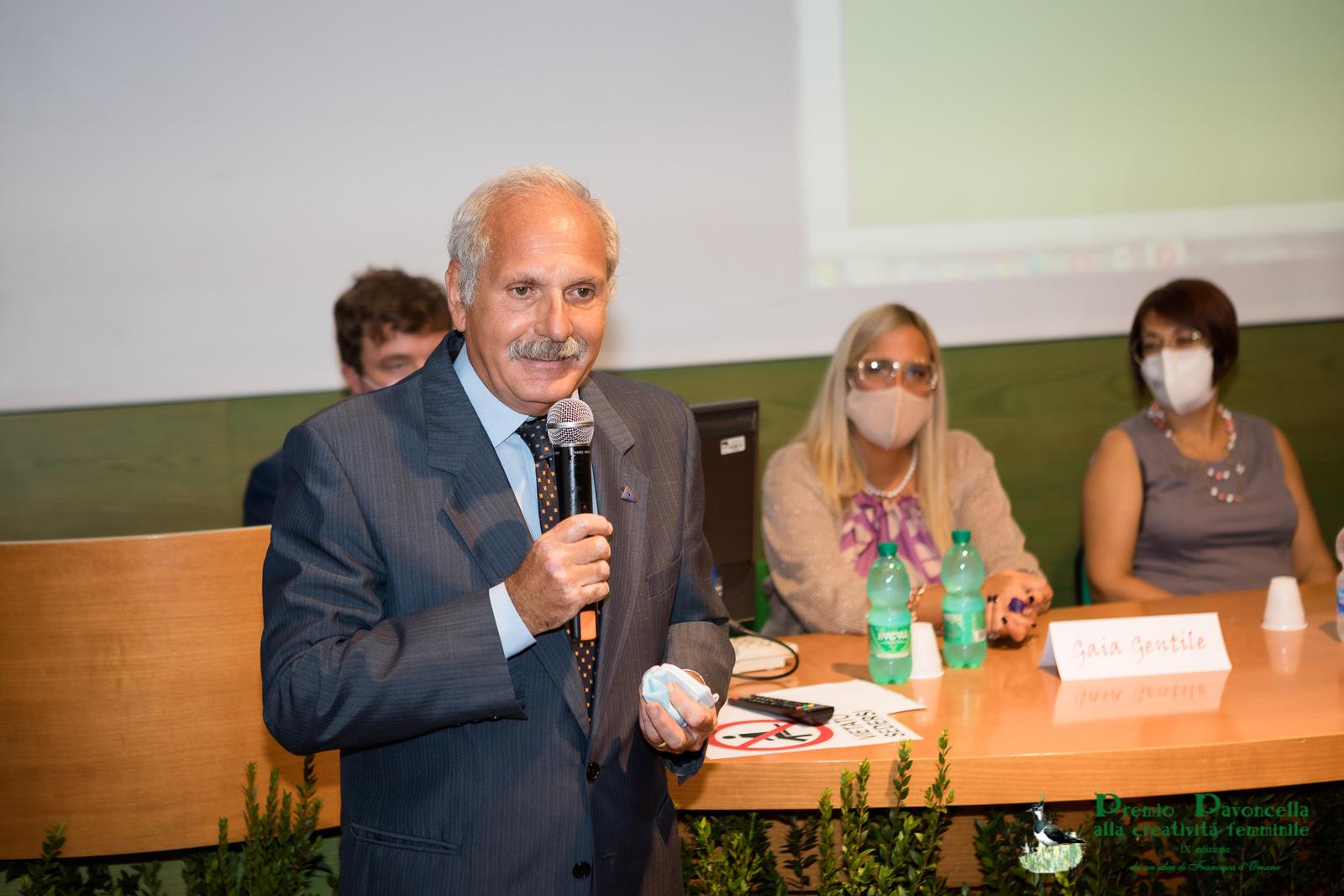 Il saluto del Presidente dell'Ente Parco Nazionale del Circeo, gen. Antonio Ricciardi, ai presenti