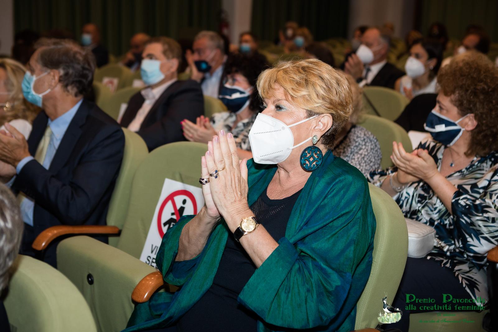 Francesca d'Oriano, presidente del Premio Pavoncella