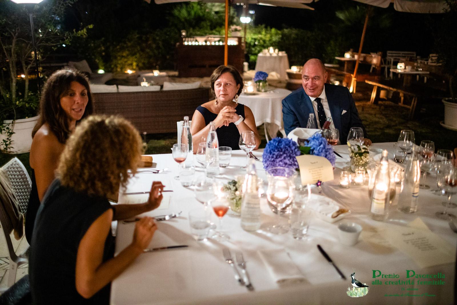 Il dottor Massimiliano Paolucci, neo direttore relazioni esterne e sostenibilità del Gruppo Terna con la consorte