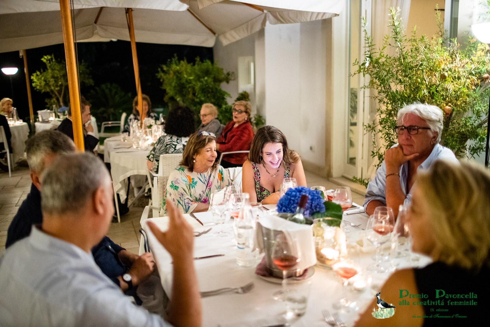 Il prof. Marco Di Capua, Rosaria Gini, Olga Scotto di Vettimo al San Francesco