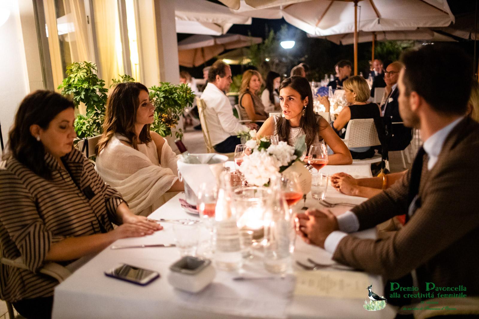 La dottoressa Anna Maria Altomare con altri ospiti al San Francesco