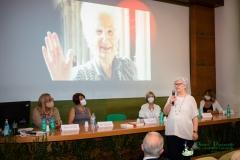 Paola Binetti durante la premiazione