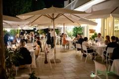 Panoramica della sala del San Francesco durante la cena offerta agli ospiti della Pavoncella