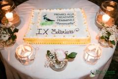 La torta con l'immagine della Pavoncella